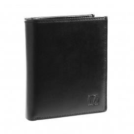 Skórzany portfel męski  PM-24 czarny