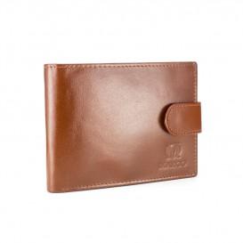 Brandy skórzany portfel męski Firmy MARCO PM-127