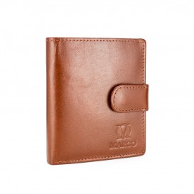 Brandy leather wallet