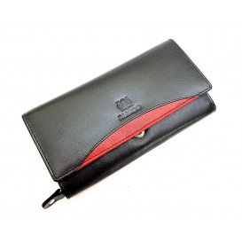 Leather women's wallet