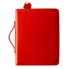 Czerwony organizer