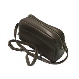 Brawn leather cross bag