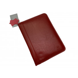 Red portfolio case