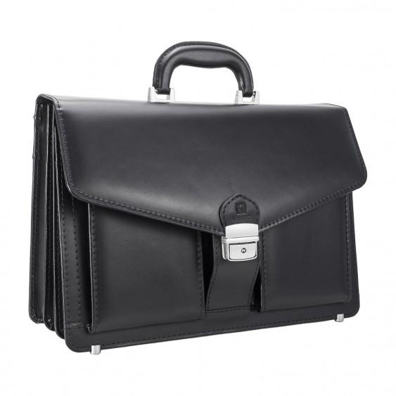 Black men's executive briefcase